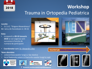 Workshop – Trauma in Ortopedia Pediatrica